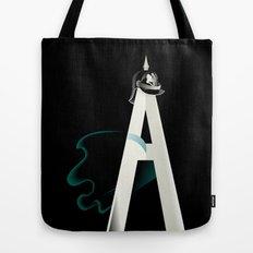 Tyranny of the Alphabet Tote Bag