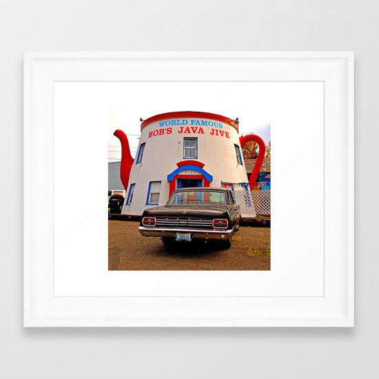 South Tacoma landmark Framed Art Print