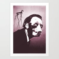 SalvaDog Dalí Art Print