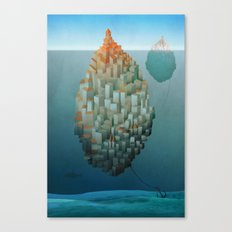 Floating Cities Canvas Print