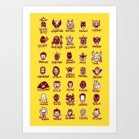 Happy Little Marvels - Y… Art Print