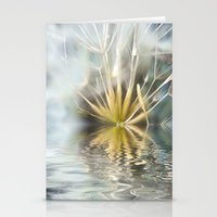 Dandelion fantasy Stationery Cards