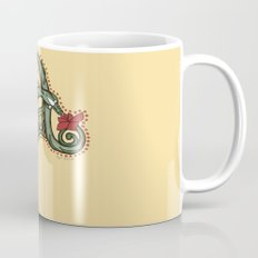 Celtic Dragon Letter A Mug
