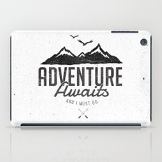 ADVENTURE AWAITS iPad Case