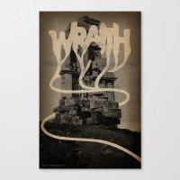 WRAITH - Monument Canvas Print