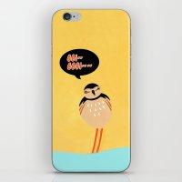 SCOLOPACIDAE BIRD iPhone & iPod Skin