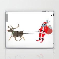 Santa Husky Laptop & iPad Skin