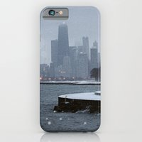 Chicago In The Snow iPhone 6 Slim Case