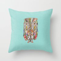 I CAN SEE IN THE DARK Throw Pillow