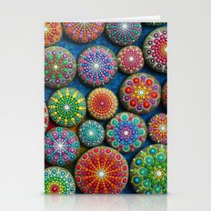 Mandala Stone Love Heart Stationery Cards