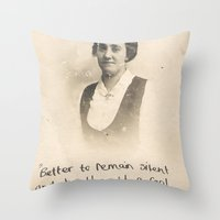 The Quote And The Photog… Throw Pillow