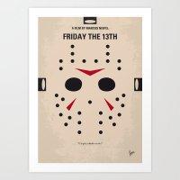 No449 My Friday The 13th… Art Print
