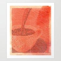 WakeUp! Art Print