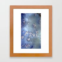 winter lotus Framed Art Print