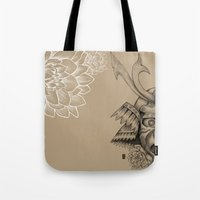 Samurai Mask Version B Tote Bag