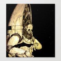 Spaceghost I Canvas Print