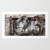 Repetition Art Print