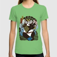 Pantoo Womens Fitted Tee Grass SMALL