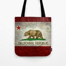 California Republic state flag Tote Bag