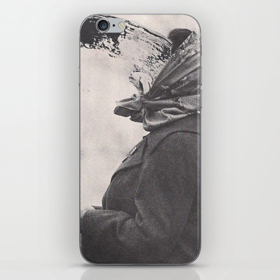 Human Water Fountain iPhone & iPod Skin