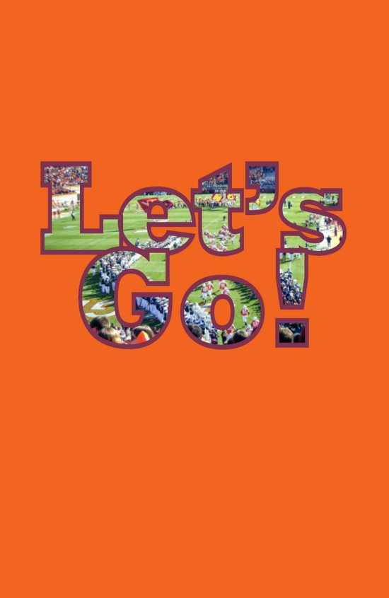 Let's Go! Football Art Print