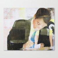 Endorsement Canvas Print