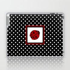 Ladybug And Polkadots Laptop & iPad Skin