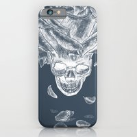About rose and skull iPhone 6 Slim Case