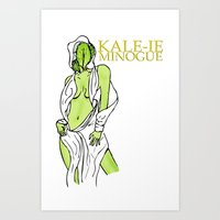 Kale-ie Minogue Art Print