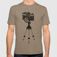 Camera Mens Fitted Tee Tri-Coffee SMALL