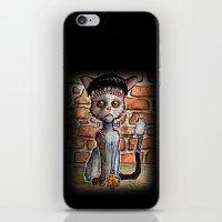 Franken Kitty iPhone & iPod Skin