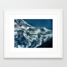 Foot of the Glacier II Framed Art Print