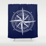 Shower Curtain featuring Go by Narais