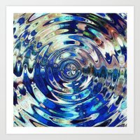 Water Element Ripple Pat… Art Print