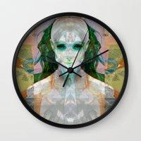 machina ex femina Wall Clock