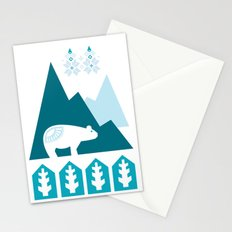 Heart the Polar Bear Stationery Cards