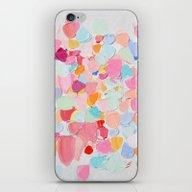 Amoebic Confetti iPhone & iPod Skin
