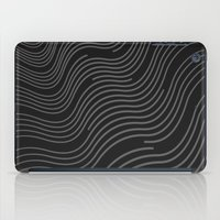 Organic Stripes #03: Monochrome version iPad Case