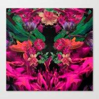 Floral Storm Canvas Print