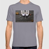 Love Mens Fitted Tee Slate SMALL