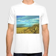 Wonderful landscape. Mens Fitted Tee White SMALL