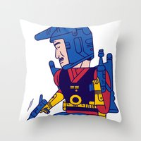 Buck Rogers Throw Pillow