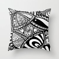 In The Tangle Throw Pillow
