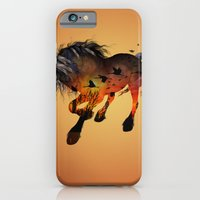 horse iPhone & iPod Cases featuring Horse by nicky2342