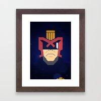 Dredd / Judge Dredd Framed Art Print