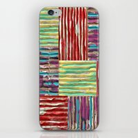 Painterly Corrugated Cardboard iPhone & iPod Skin
