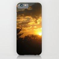 Silhouette Sunset iPhone 6 Slim Case