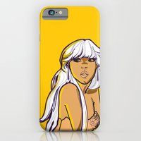 iPhone & iPod Case featuring South Beach Girl by Jazz Doodles