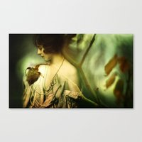 A Rose in Winter Canvas Print