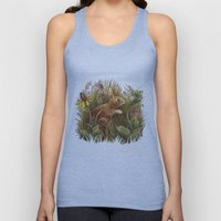 The Cottontail and the Katydid Unisex Tank Top